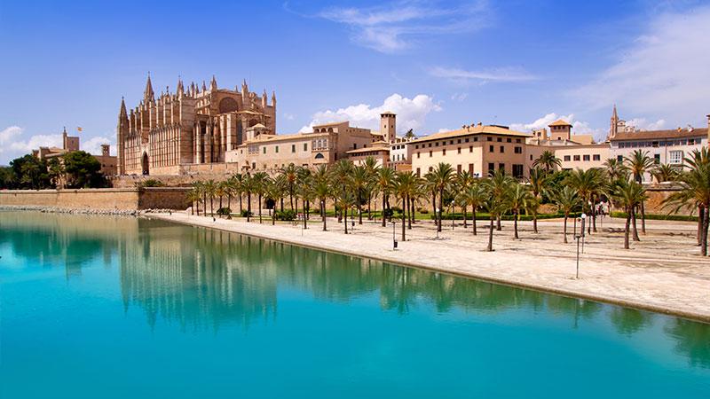 Palma De Mallorca Spania Spaniatips