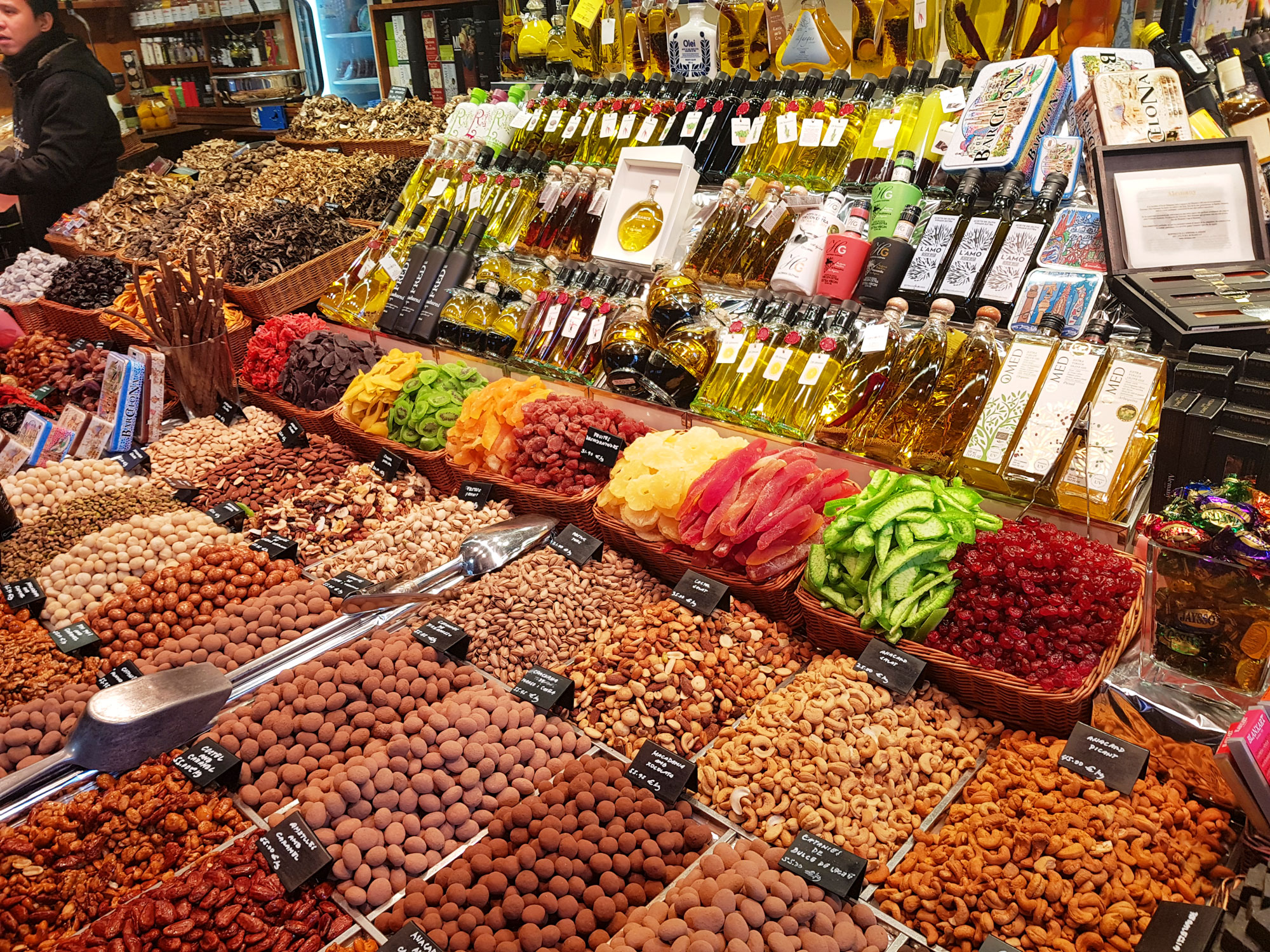 frukt-notter-matmarked-barcelona