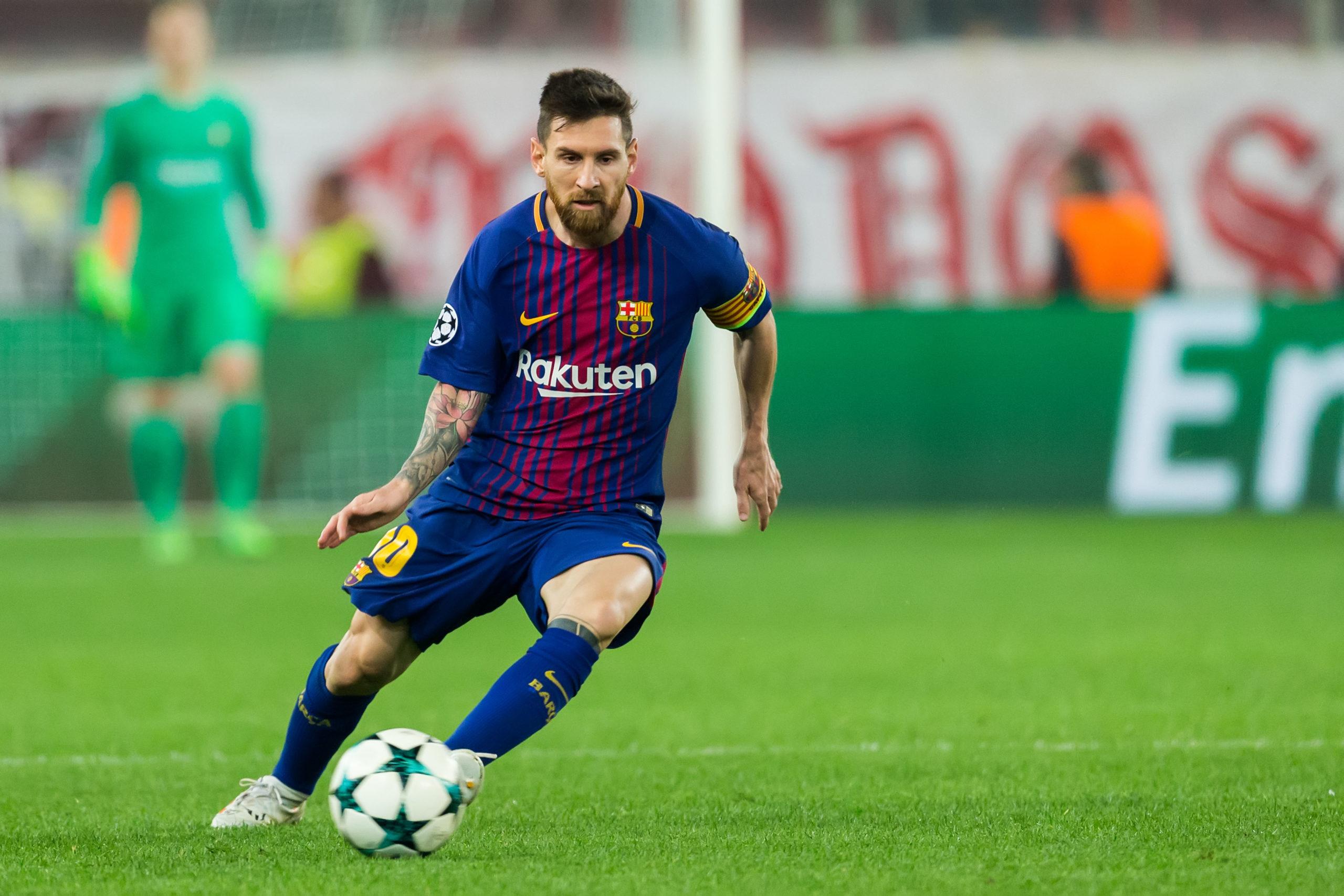 Barcelona fotball se fotballkamp Spania