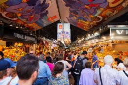Barcelona mat drikke matmarked Spania