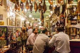 Sevilla mat restaurant Spania