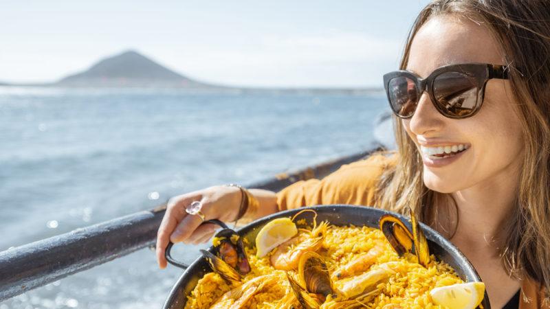 Spania spansk mat drikke paella tradisjonsmat matretter