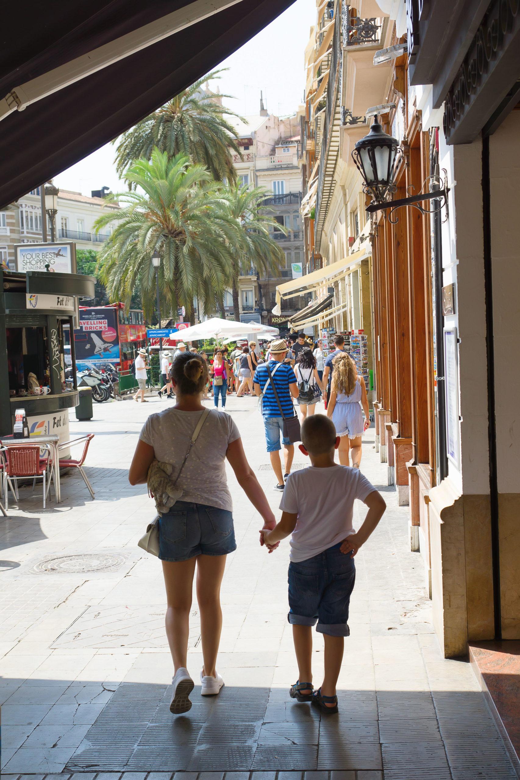 Valencia klima vaer temperatur Spania