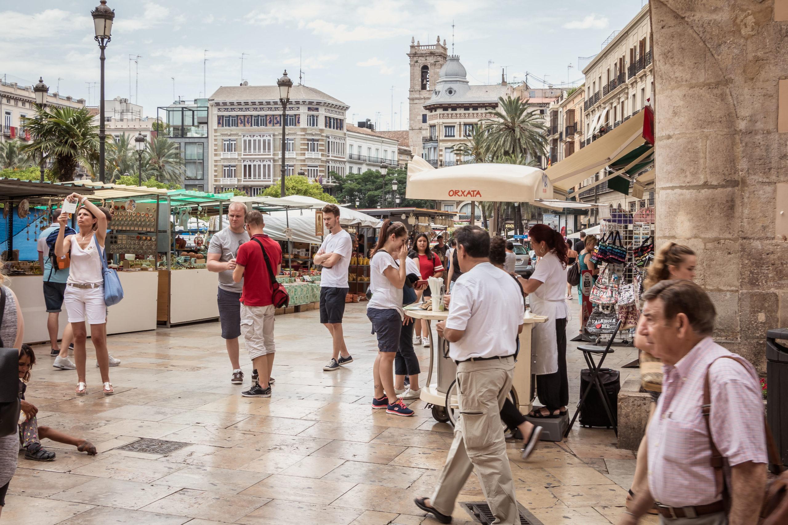 Valencia mat restauranter spisesteder
