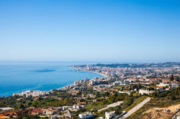costa del sol blanca vaer klima temperatur Spania