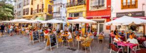 mat drikke Spania levekostnader restaurant