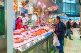 mat drikke Spania levekostnader restaurant marked Valencia