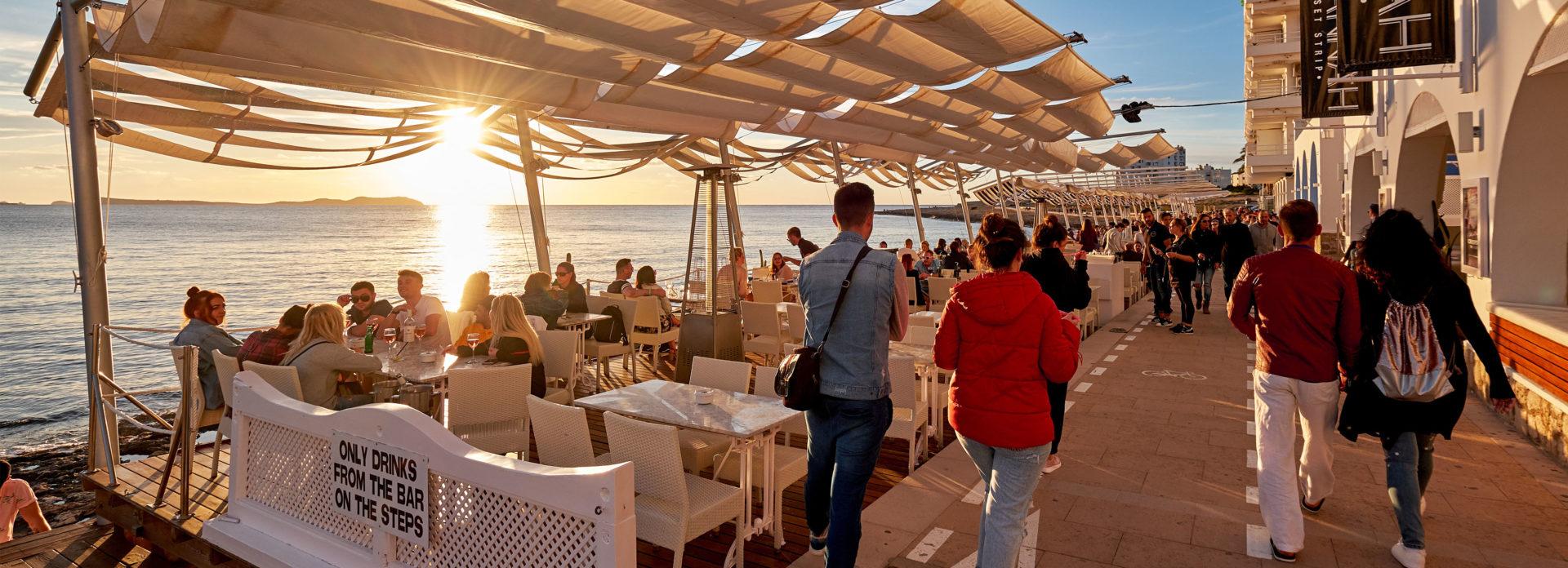 uteliv Spania Ibiza bargate utesteder barer