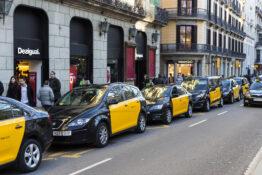 taxi drosje taxiko Barcelona tips driks hvor mye penger